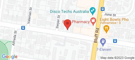 Location map for 12/93 Highett Road Hampton