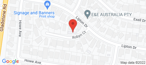 Location map for 2 Robyn Court Dandenong North