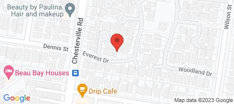 Location map for 3 Everest Drive Cheltenham