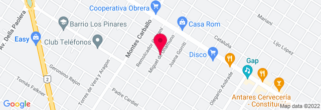 Map for Museo de Arte Contemporáneo