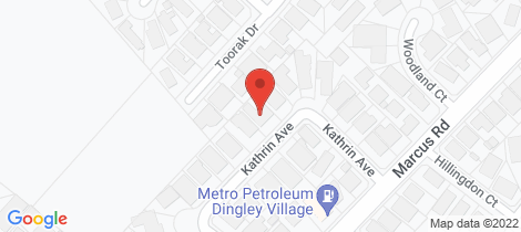 Location map for 15 Kathrin Avenue Dingley Village