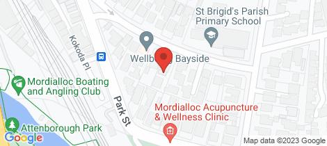 Location map for 88 Albert Street Mordialloc
