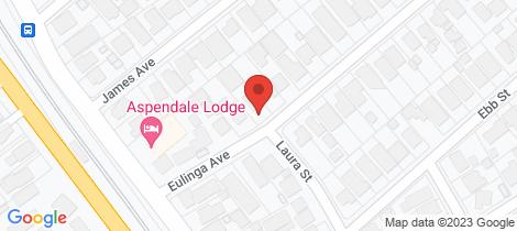 Location map for 5 Eulinga Avenue Aspendale