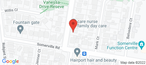 Location map for 2 Vanessa Dr Hampton Park