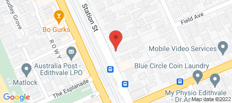 Location map for 6/216 Station Street Edithvale