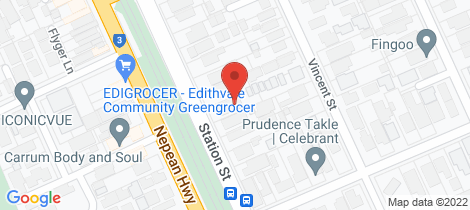 Location map for 235 Station Street Edithvale