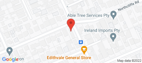 Location map for 2/56 Northcliffe Rd Edithvale