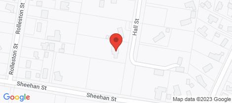 Location map for 76 Hall Street Kihikihi