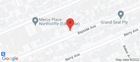 Location map for 1/21 Bayside Avenue Edithvale
