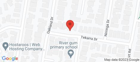 Location map for 8 Tekarra Drive Hampton Park