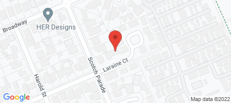 Location map for 3 Laraine Court Bonbeach