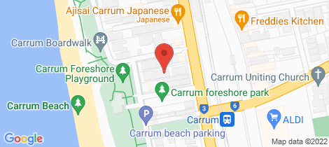 Location map for 6/635 Nepean Highway Carrum