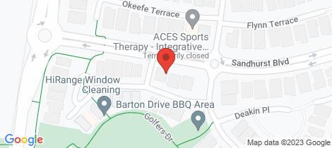 Location map for 34/2 Barton Drive Sandhurst