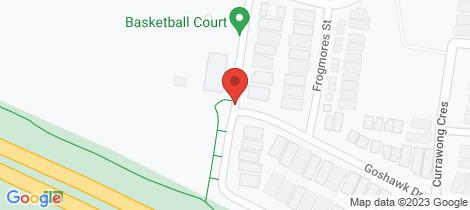 Location map for 13 Plover Street Pakenham
