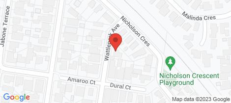 Location map for 12 Wattlepark Avenue Bell Park