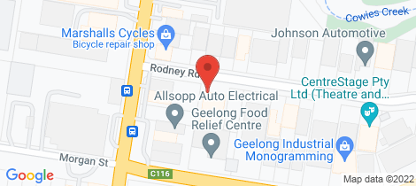 Location map for 4-8 Rodney Road North Geelong