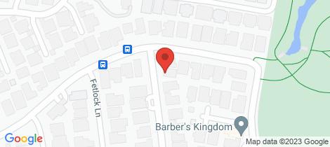 Location map for 4 Gatehouse Parade Cranbourne East