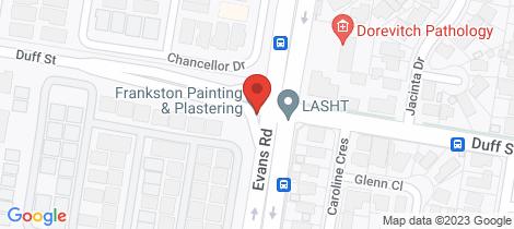 Location map for Lot 402 Wilton Street Cranbourne West