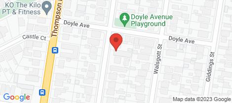 Location map for 5/68-72 Osborne Avenue North Geelong