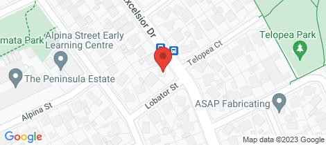 Location map for 7 Lobator Street Frankston North