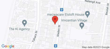 Location map for 98 Sladen Street Hamlyn Heights
