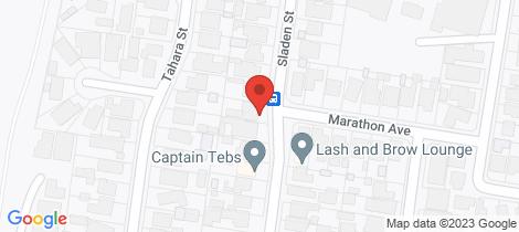 Location map for 86 Sladen Street Hamlyn Heights