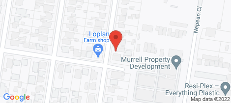 Location map for 12 Giddings Street North Geelong