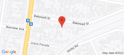 Location map for 1/10 Bakewell Street Herne Hill