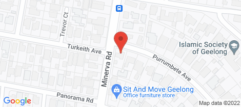 Location map for 1 Purrumbete Avenue Manifold Heights