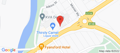 Location map for 60 Hyland Street Fyansford