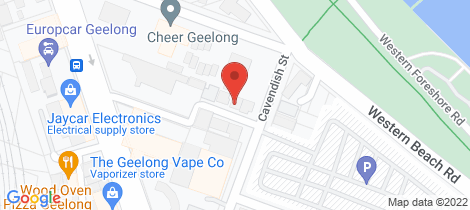 Location map for 3 Kerley Street Geelong