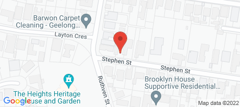 Location map for 21 Stephen Street Newtown