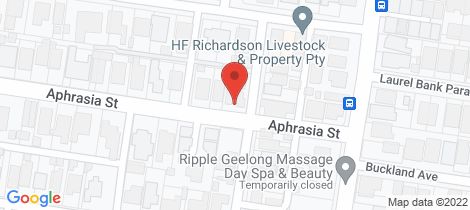 Location map for 3/2 Aphrasia Street Newtown