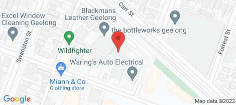 Location map for 9B Strong Street South Geelong