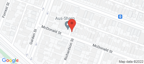 Location map for 7 McDonald Street East Geelong