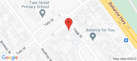 Location map for 8 Tate Street Thomson