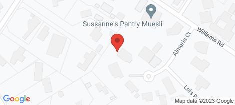 Location map for 9 Almeria Court Mount Eliza