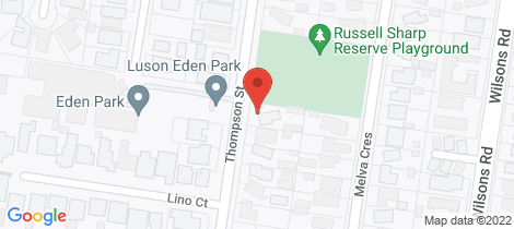 Location map for 32 Thompson Street Whittington