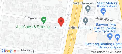 Location map for 24 Settlement Road Belmont