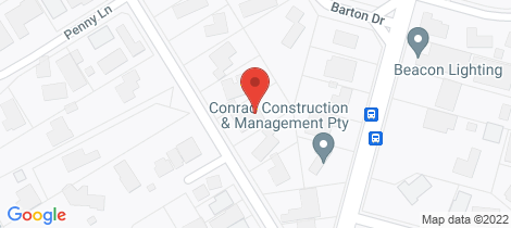 Location map for 6 Glen Shian Lane Mount Eliza