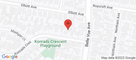 Location map for 4/24 Konrads Crescent Highton