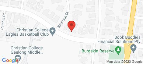 Location map for 2/19 Burdekin Road Highton