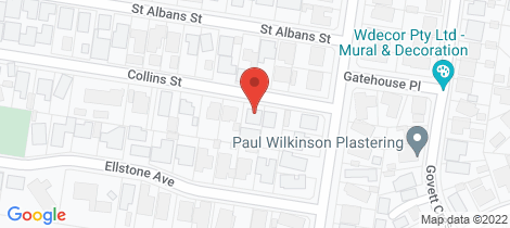 Location map for 26B Collins Street St Albans Park