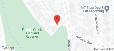 Location map for 88 Wimborne Avenue Mount Eliza