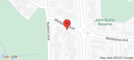 Location map for 96 Wimborne Avenue Mount Eliza