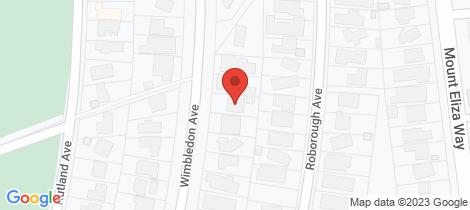 Location map for 125 Wimbledon Avenue Mount Eliza