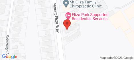 Location map for 1/163 Mt Eliza Way Mount Eliza