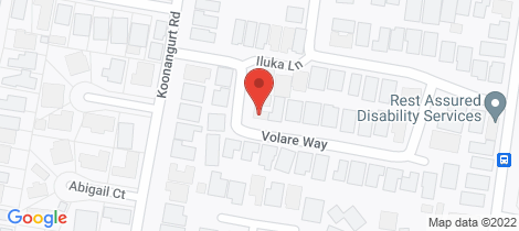 Location map for 19 Volare Way Leopold