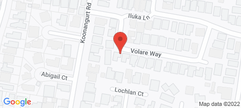 Location map for 11 Volare Way Leopold