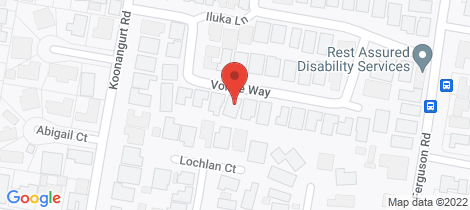 Location map for 20 Volare Way Leopold